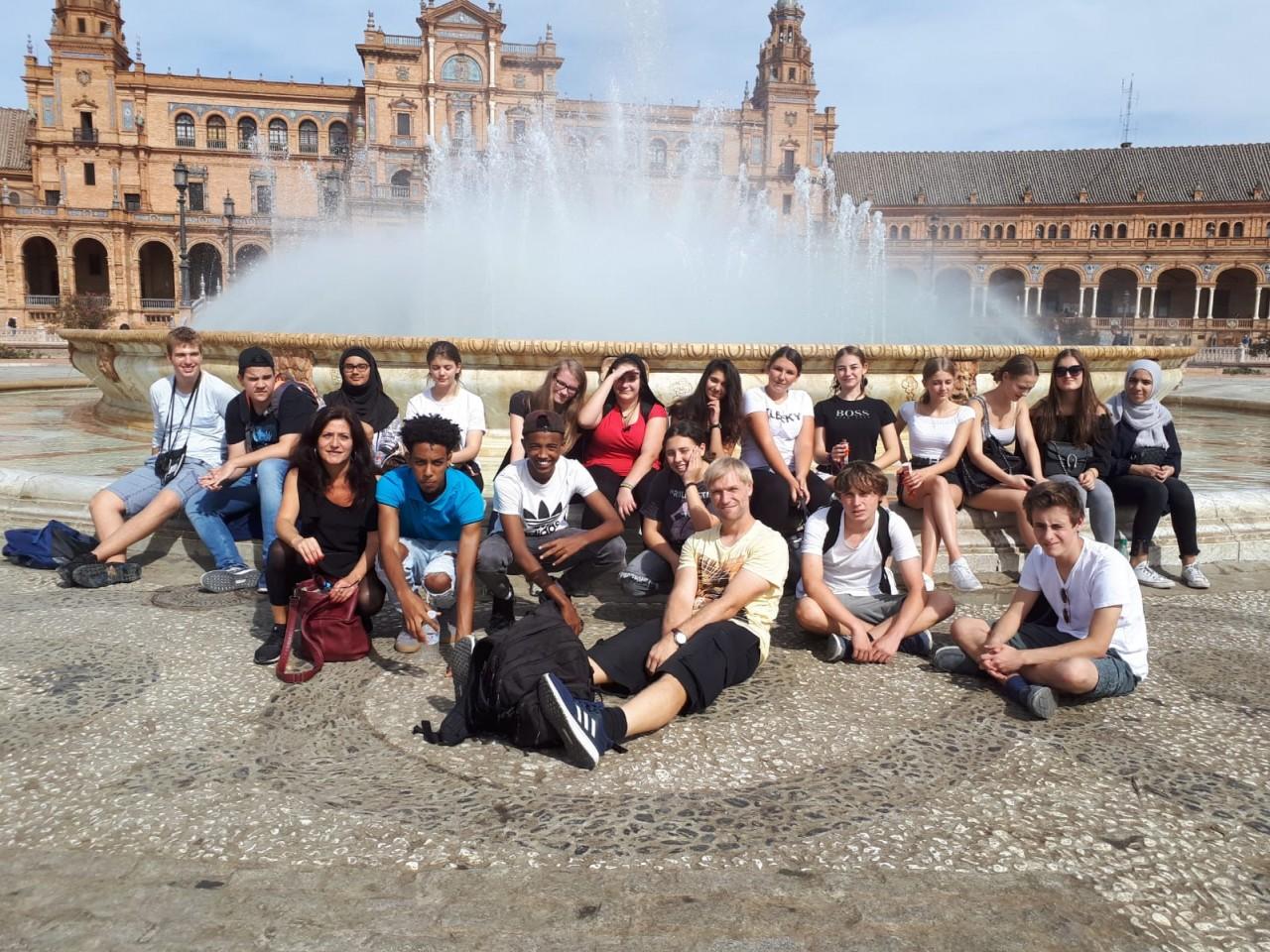 Spanienaustausch: Studienfahrt nach Sevilla